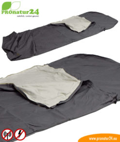 Sleeping bag TSB electrosmog PRO- A great addition for HF electrosmog (up to 35 dB) and LF protection for out and about!