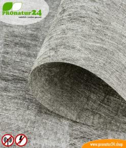 HNV80 shielding fleece, up to 87 dB attenuation against HF + LF electrosmog