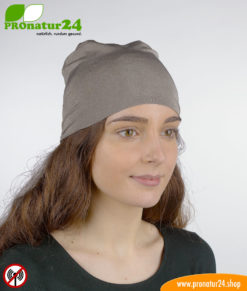Shielding helmet/headscarf/headgear TKE against electrosmog from radio (mobile radio, WLAN, LTE…)