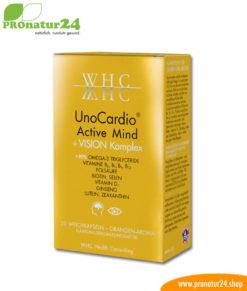 WHC UnoCardio Active Mind + VISION Komplex, 30 soft capsules